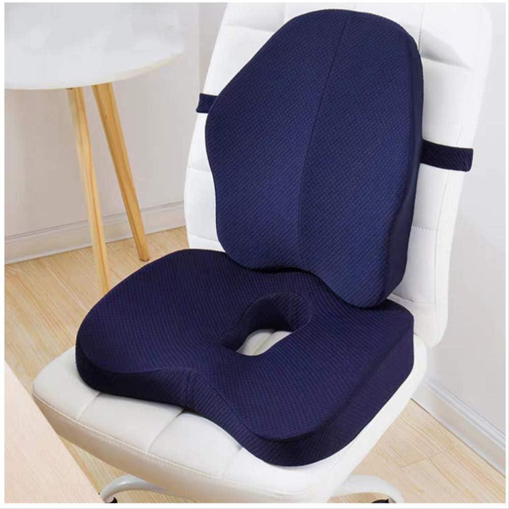 Memory Foam 10 Pcs Orthopedic Pillow Set Office Chair Cushion