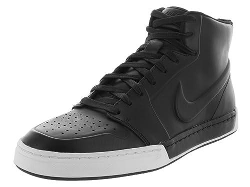 Amazon.com | Nike Mens Air Royal Mid VT Black/Black 395757-005 | Fashion Sneakers