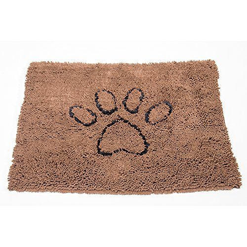 Doggie Dish (Dog Gone Smart Dirty Dog Doormat, Large, Brown)