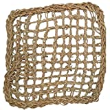 Sea Grass Climbing Net Square For Birds (13 inch by 13 inch)