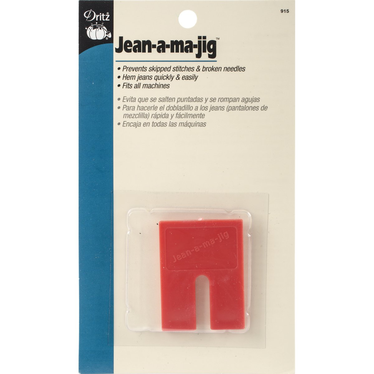 Dritz Jean, a, Majig for Sewing Product Jason Hayes Prym Consumer USA 915