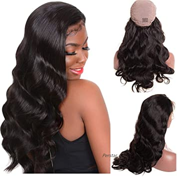 Glueless Lace Front Wigs Body Wave Human Hair Unprocessed Virgin Brazilian  Hair Wig With Baby Hair 2d727bfa3b4a