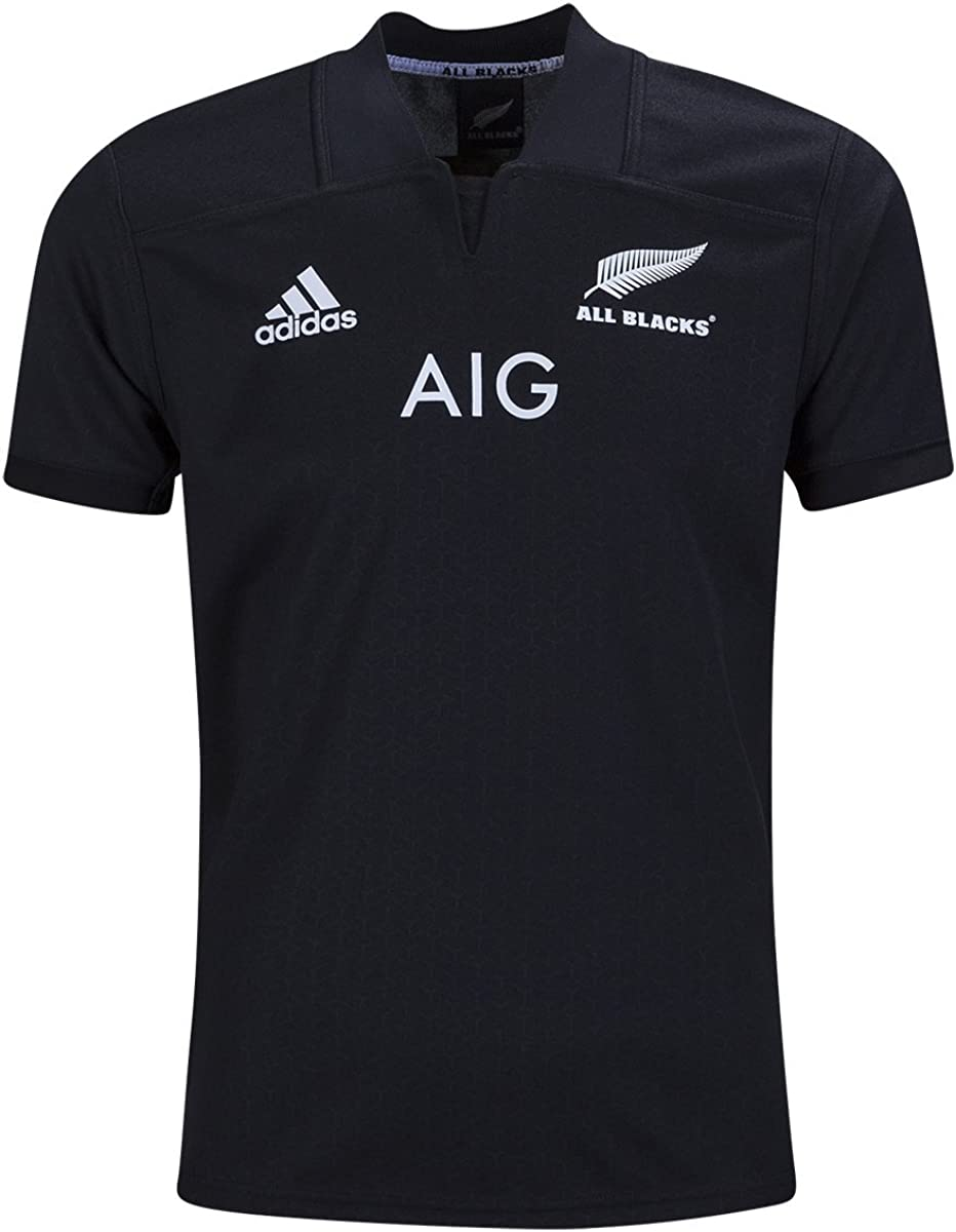adidas All Blacks Home Youth Rugby Jersey