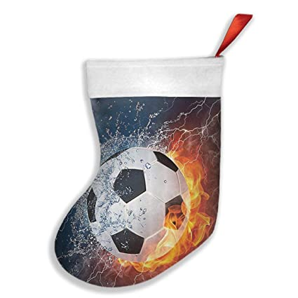 Amazon Soccer Ball On Fire And Water Flame Splashing Thunder Extraordinary Decorate Your Own Soccer Ball