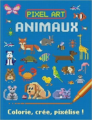 Amazonin Buy Pixel Art Animaux Colorie Cree Pixelise