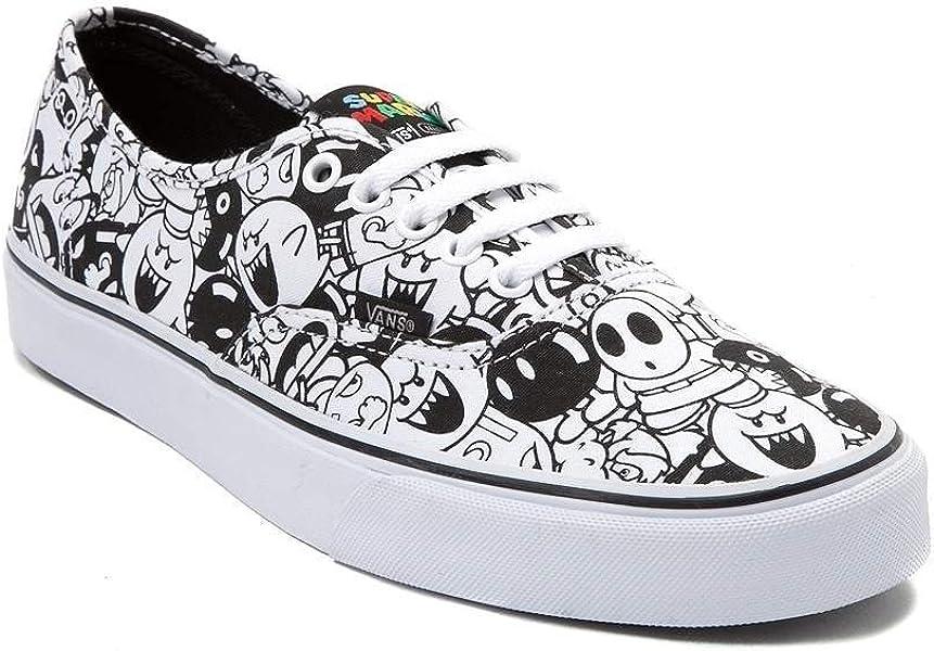 2af7ea3d2a (バンズ) VANS 靴・シューズ スニーカー Nintendo and Vans Authentic Super Mario Villains Skate  Shoe Villains White イン ホワイト US Men s 7