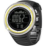 Docooler 5ATM Waterproof Altimeter Compass Stopwatch Fishing Barometer Pedometer Outdoor Sports Watch Multifunction