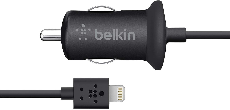 Belkin Kfz Ladegerät 2100 Mah Inkl 1 2 M Lightning Kabel Geeignet Für Iphone 5 5c