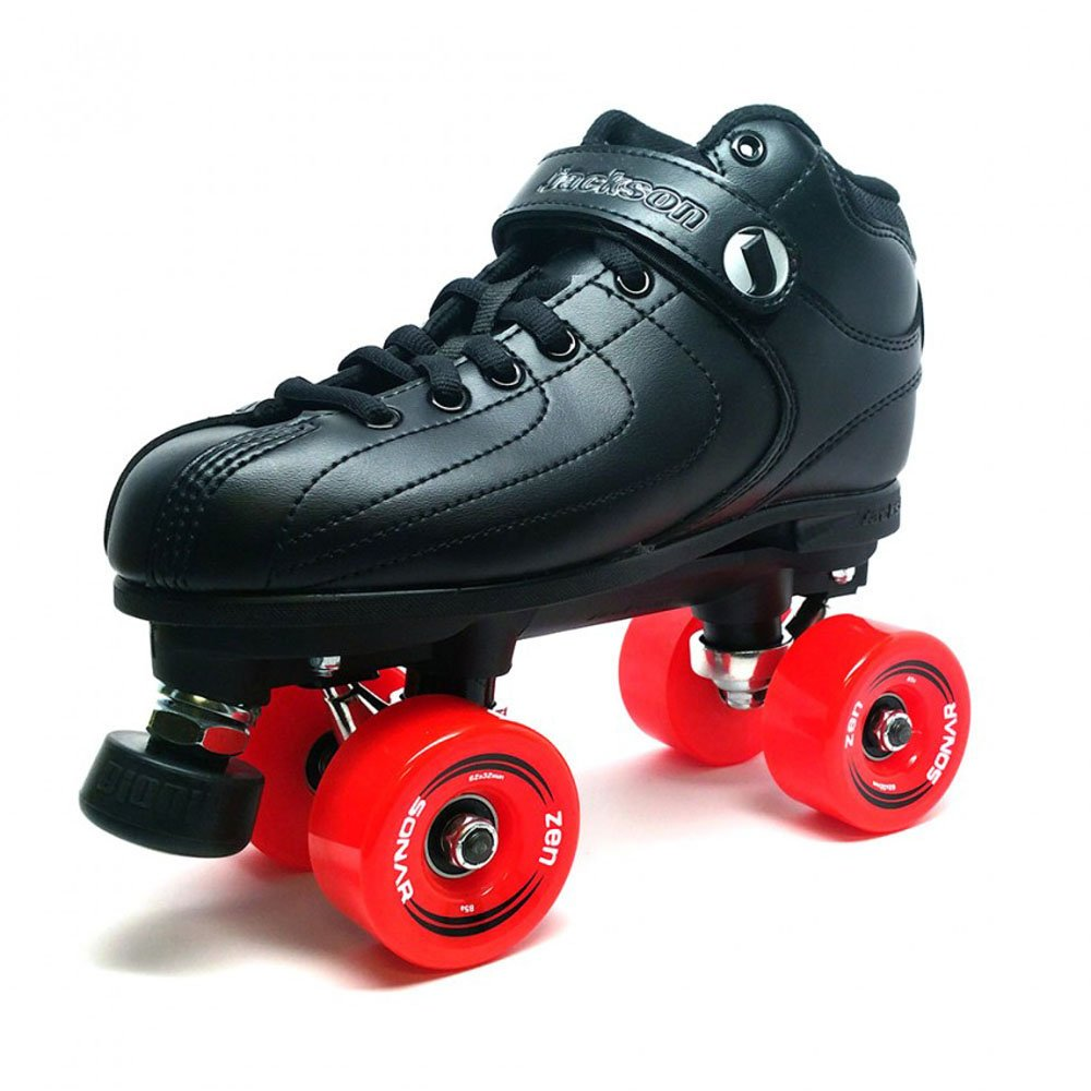 Jackson Phreakskate Devaskator Outdoor Roller Skate with Radar Zen Wheels - Size 4 by Jackson