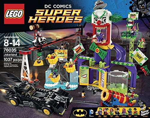 LEGO Super Heroes 76035 Jokerland Building Kit at Gotham City Store