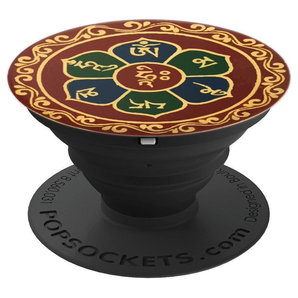 Amazon com: Mandala Popsocket Buddha Tibet Buddhist Om