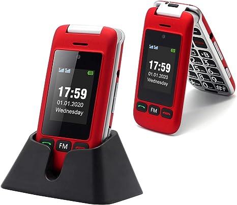 Artfone Flip Teléfono móviles para Personas Mayores con Teclas ...