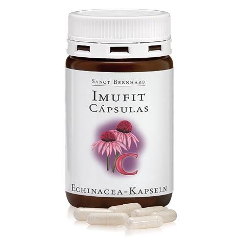Echinacea con Vitamina C - Imufit – 120 Cápsulas