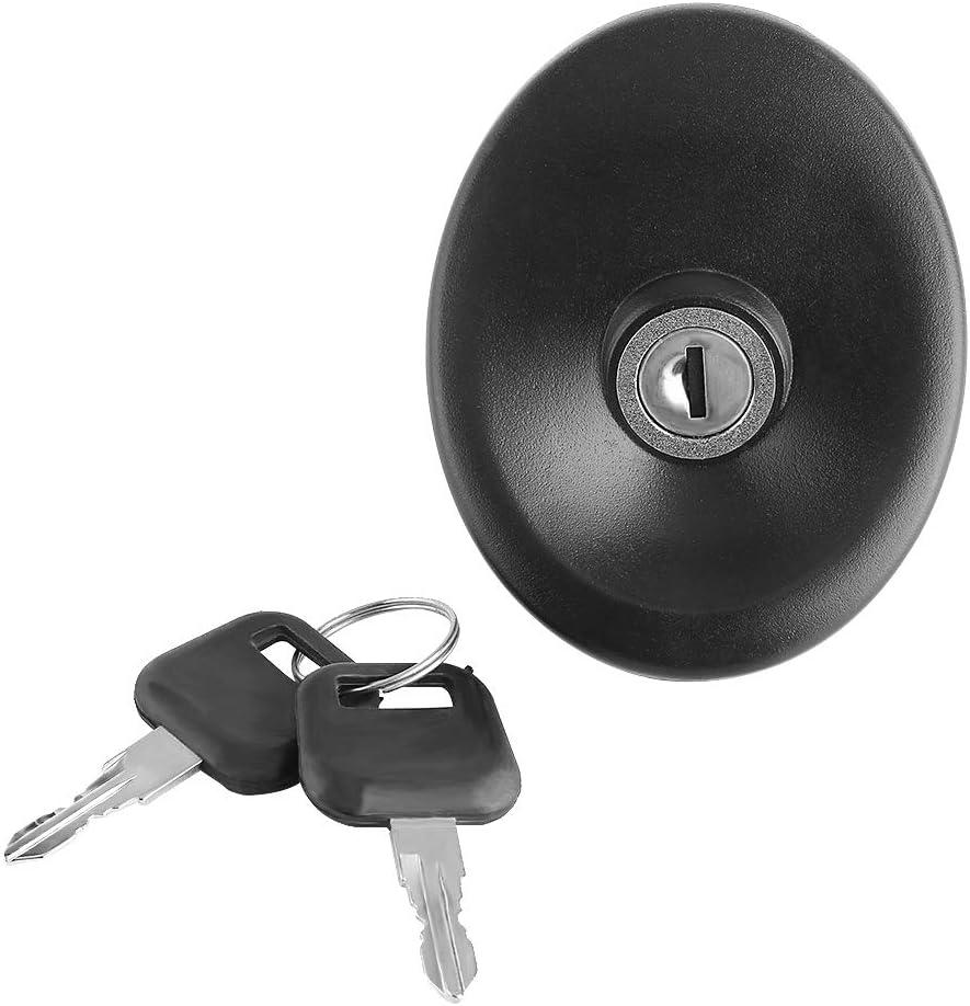 Tankdeckel Auto Fahrzeug Kraftstoff Diesel Verschlussdeckel Mit 2 Schlüsseln Kit Kunststoff Metall Für Mk5 1994 1995 1996 1997 1998 1999 2000 Auto