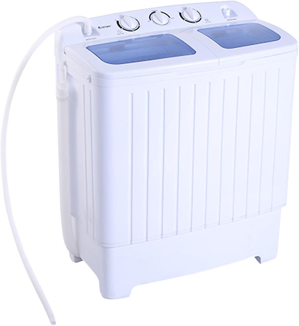 Mini lavadora + centrifugadora – 2 compartimentos – 4,5 kg – 300 W ...
