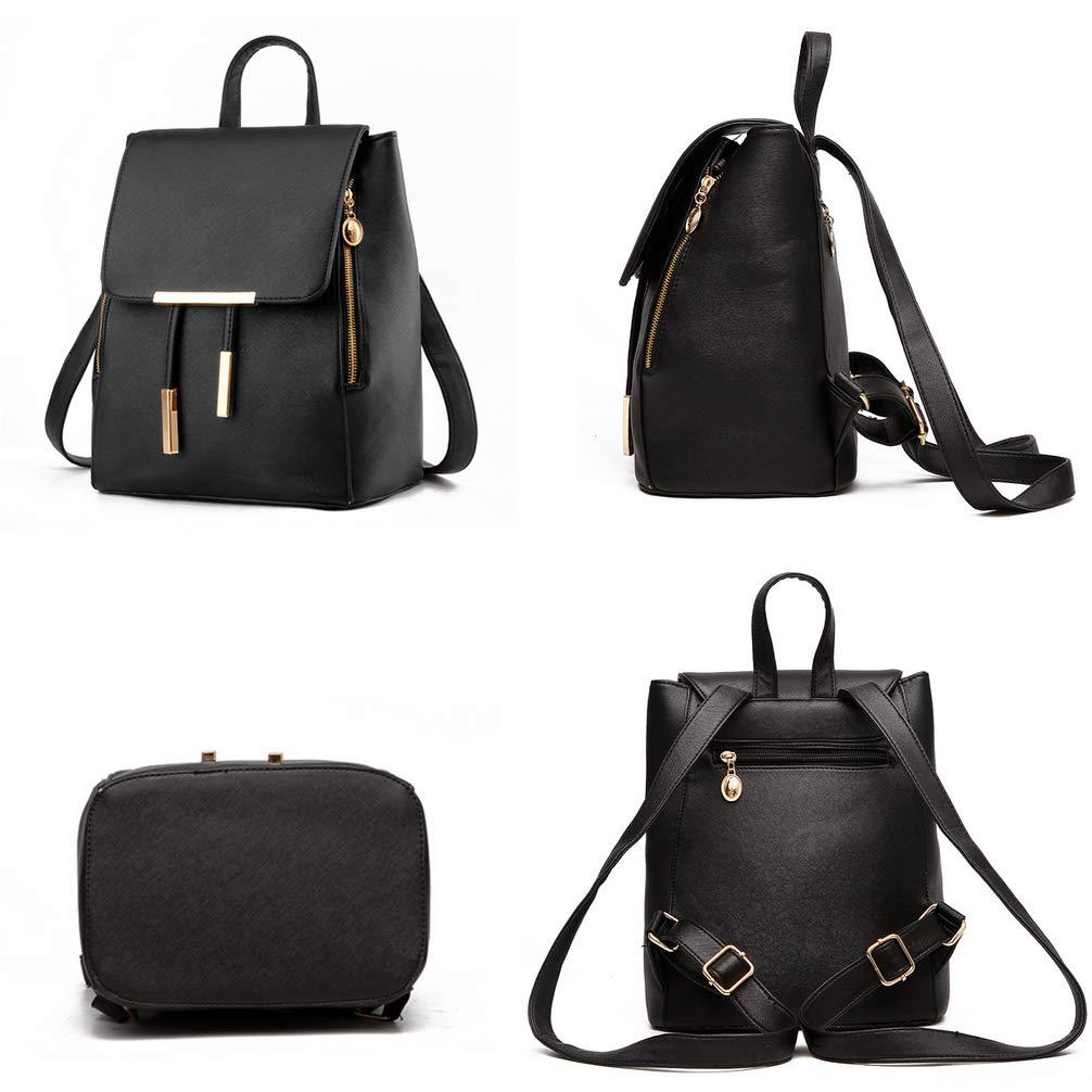 Fashion Shoulder Bag Rucksack PU Leather Women Girls Ladies Backpack Travel bag