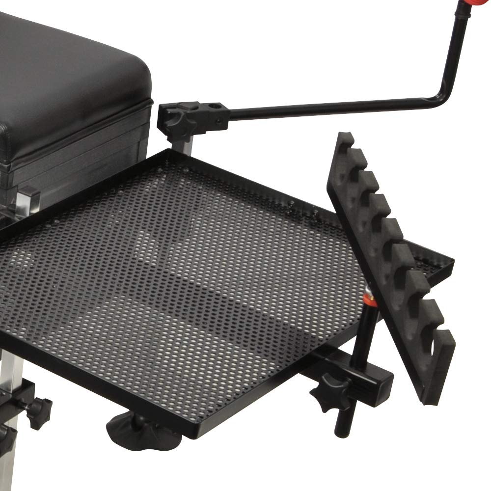 CARP PRO MATCH BOSS COARSE FISHING SEAT BOX FULLY LOADED WITH SEATBOX ACCESSORIES