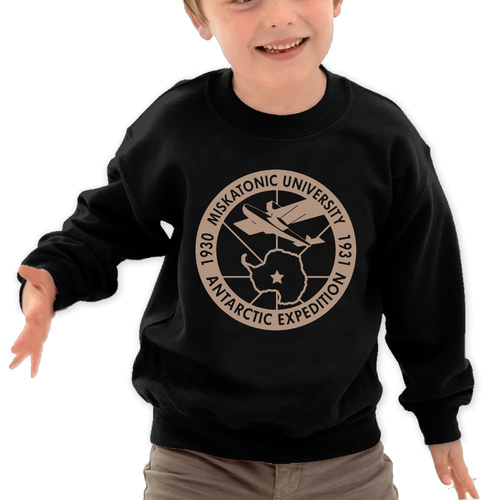 Boys Miskatonic University Sport Long Sleeve Sweatshirt by GSMACAO