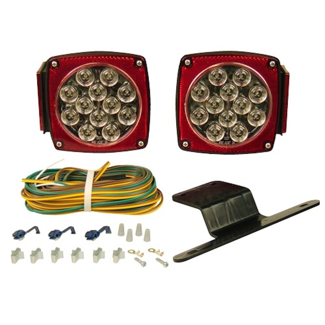 61%2BPoK0behL._SL1080_ amazon com blazer c5721 led square submersible trailer light kit blazer led trailer lights wiring diagram at bakdesigns.co