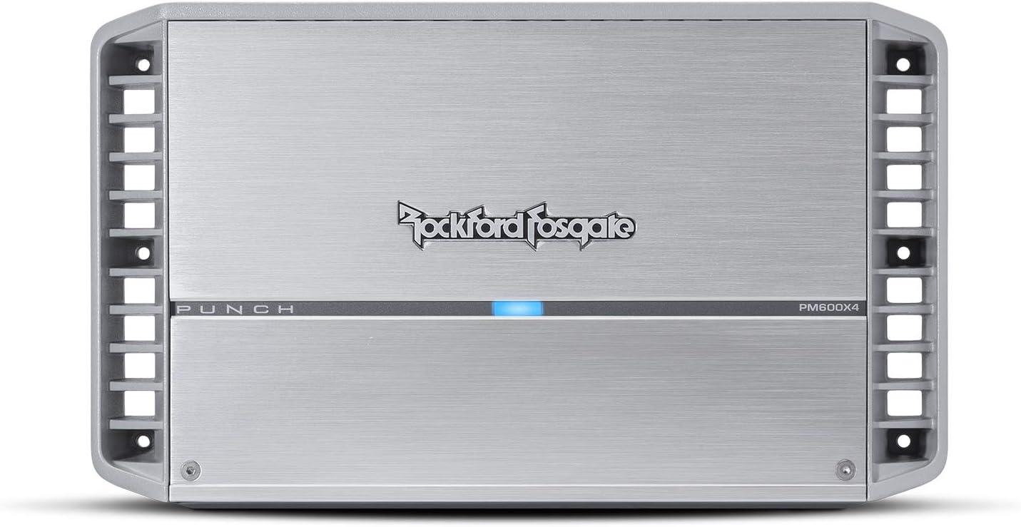 Rockford Fosgate PM600X4 Punch Marine600 Watt 4-Channel Amplifier