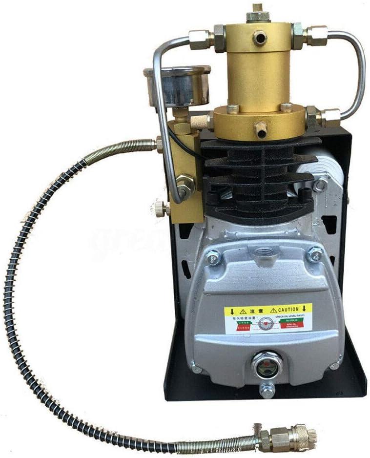 Convient pour un contr/ôle haute pression avec valve prot/ég/ée contre lexplosion Compresseur /électrique haute pression 1,8 kW Pompe /à air comprim/é haute pression 300 bars 4500PSI Yunrux 30 MPA PCP