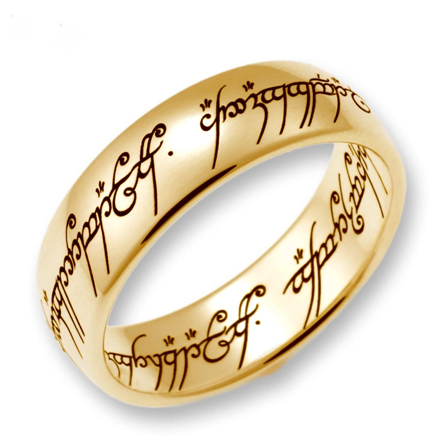 Schumann Design Lord of The Rings The e Ring made of 333 Gold