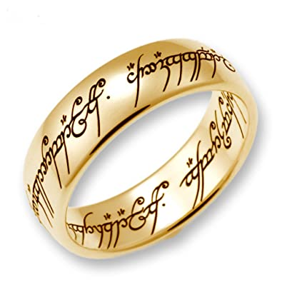 Schumann Design schumann design lord of the rings the one ring made of 333 gold 4000