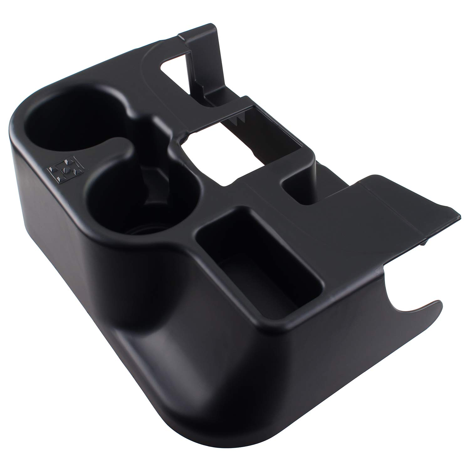 Heart Horse Black add-on Cup Holder/Center Console cupholder for 2003-2012 Dodge RAM 1500/2500/3500 (Fits Cups)