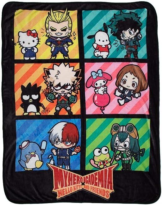 MY HERO ACADEMIA X HELLO KITTY AND FRIENDS CHARACTERS MINI BACKPACK