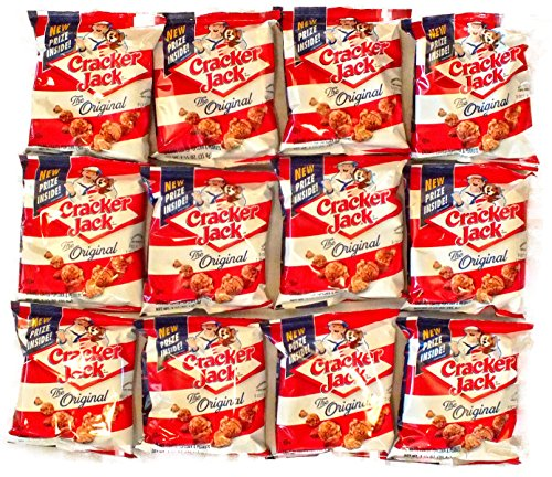 Cracker Jacks Fun Snack Pack bundle - 1.25 oz. bags (12 Count) by Bundle Bits