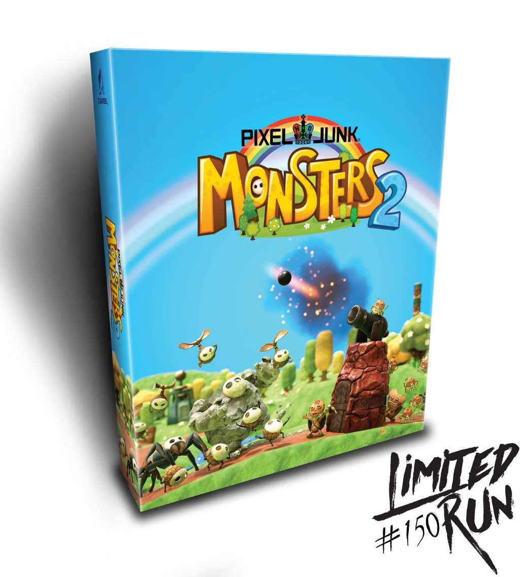 Pixel Junk Monsters 2 Collector's Edition (Limited Run #150) - Playstation 4