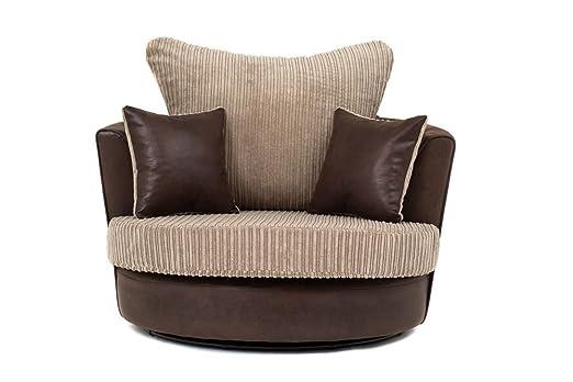 Samson esquinero 2 + 3 sofás de tela de chenilla de cable ...