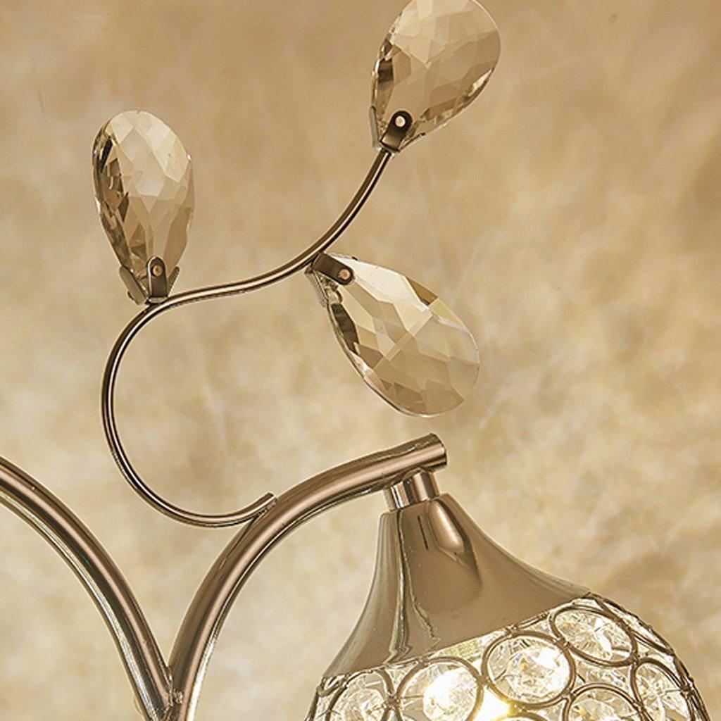 MOMO Led Kreative Kristall Tischlampe Dekoration Schlafzimmer Nachttischlampe Schreibtischlampe Luxus Kristall Licht by MOMO (Image #5)