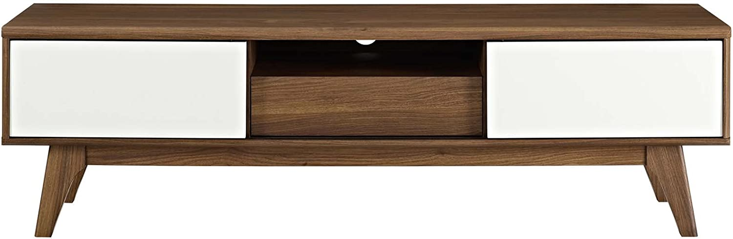 Modway Envision Mid-Century Modern Low 59 Inch TV Stand