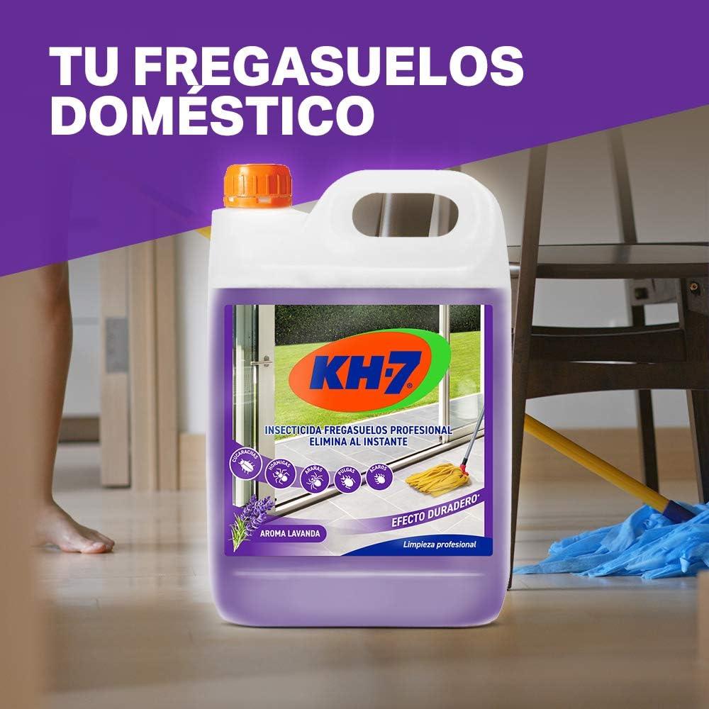 KH Profesional Desic - Insecticida fregasuelos de efecto preventivo - Fregasuelos perfumado con aroma a lavanda - Anti cucarachas, hormigas e insectos ...