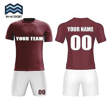 M-W Sports Custom Sport Jerseys Full Sublimation Fabrics Custom Team Soccer  Jerseys Custom Name and Number 7f1a258249e4