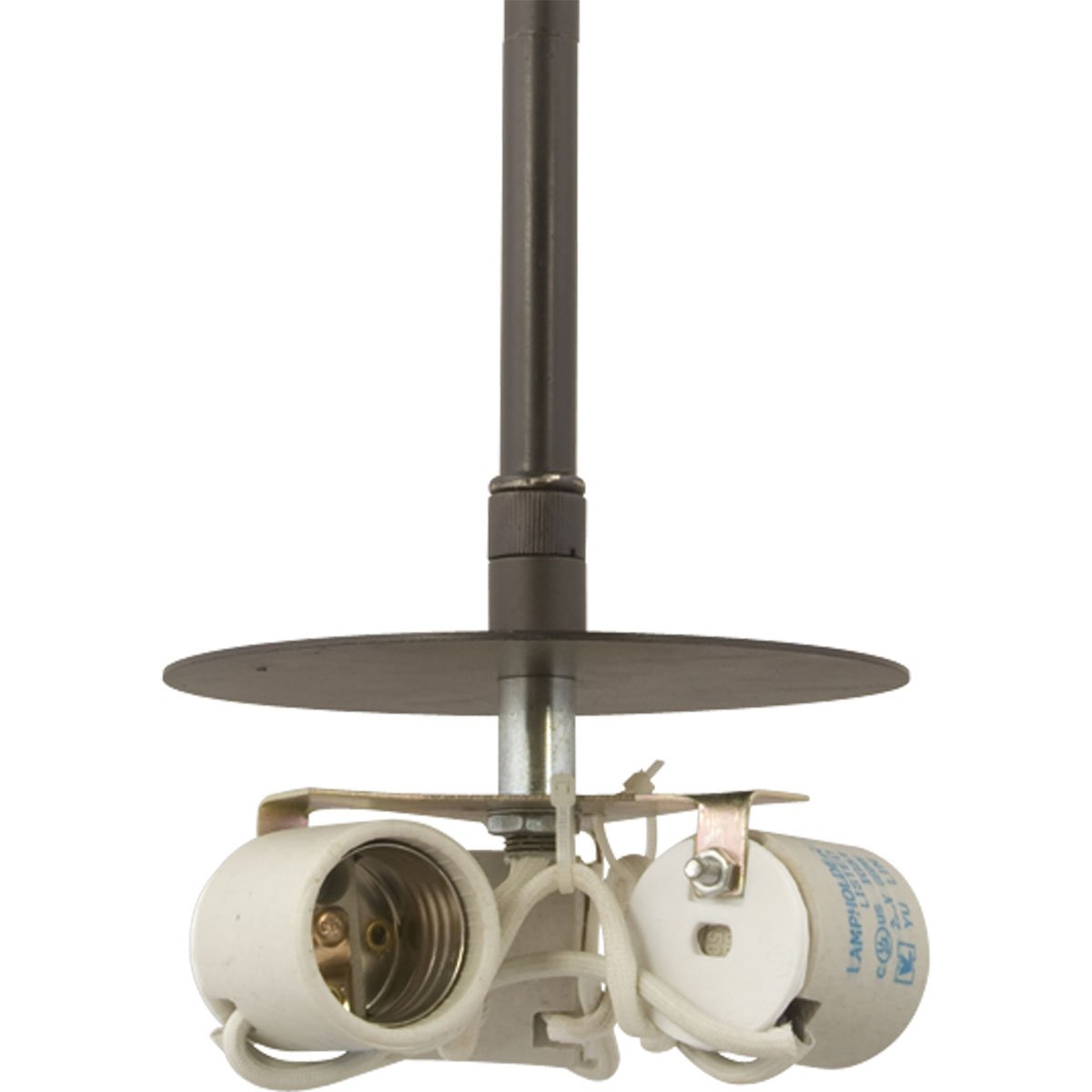 used pendant lighting. progress lighting p519909 3light stem mounted pendant used with markor or chloe shades for complete fixture brushed nickel ceiling fixtures