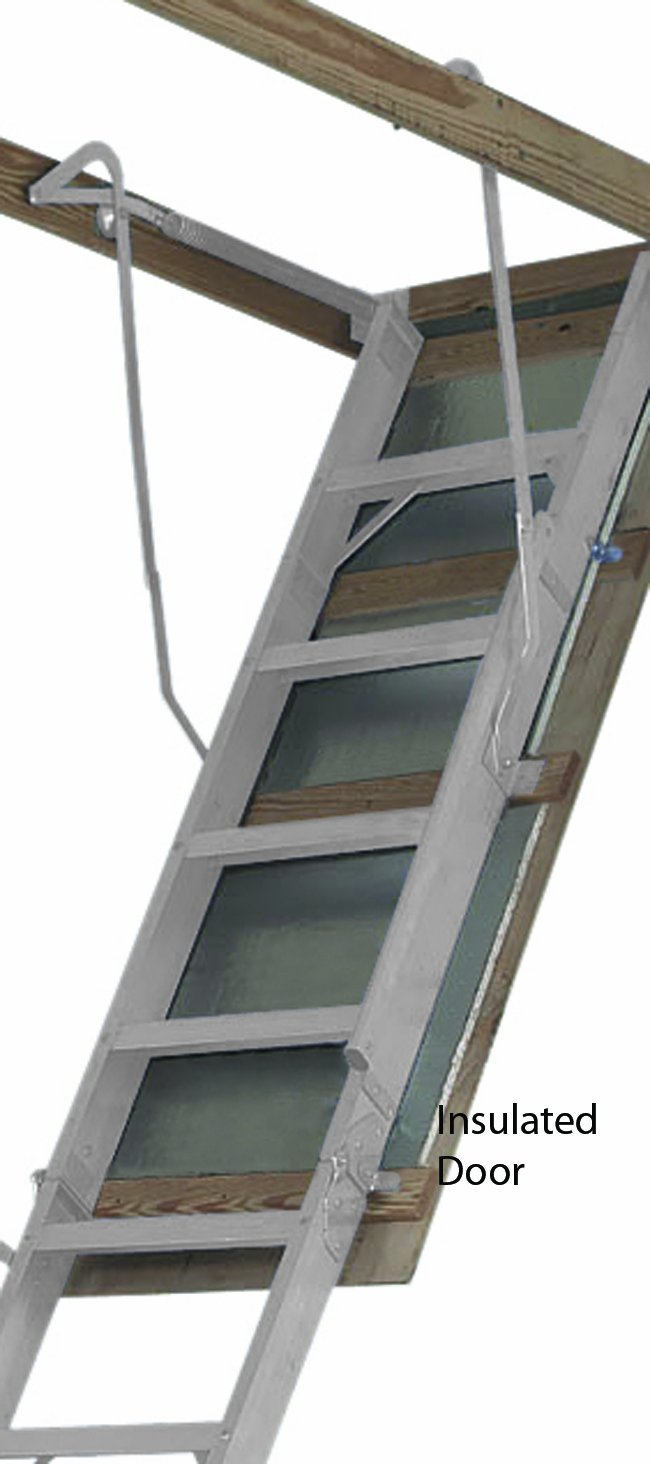 Attic Ladder Louisville Aluminium Attic Ladder Big Boy 8