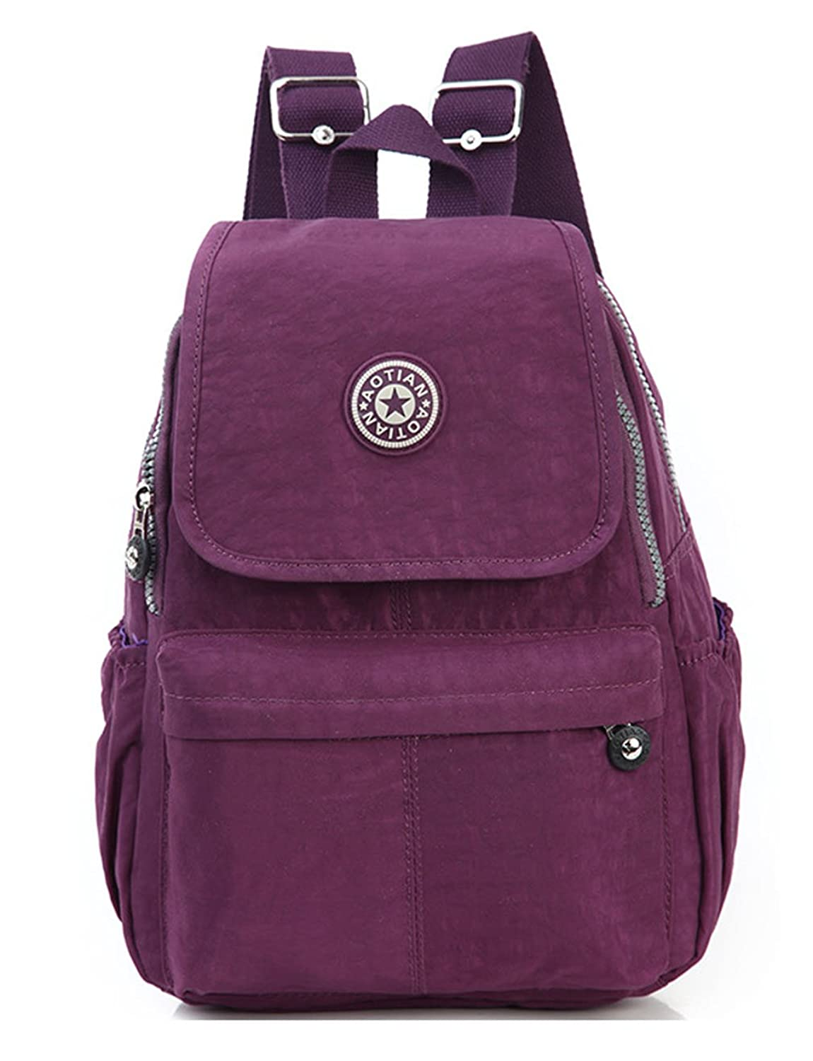 Keshi Canvas Cool Most Durable Packable Handy Lightweight Travel Backpack Daypack