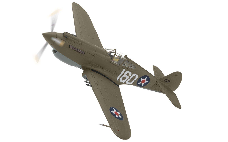 Corgi Boys Curtiss P-40B Warhawk Pearl Harbor Defender 1:72 Diecast Military Aviation
