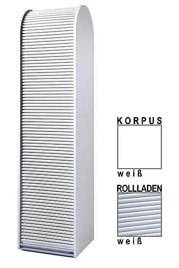 Klenk Dancer Collection Hochschrank Korpus Weiss Rollladen Weiss