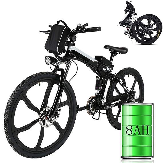 Bicicleta eléctrica de montaña, 250W, Batería 36V E-Bike Sistema ...
