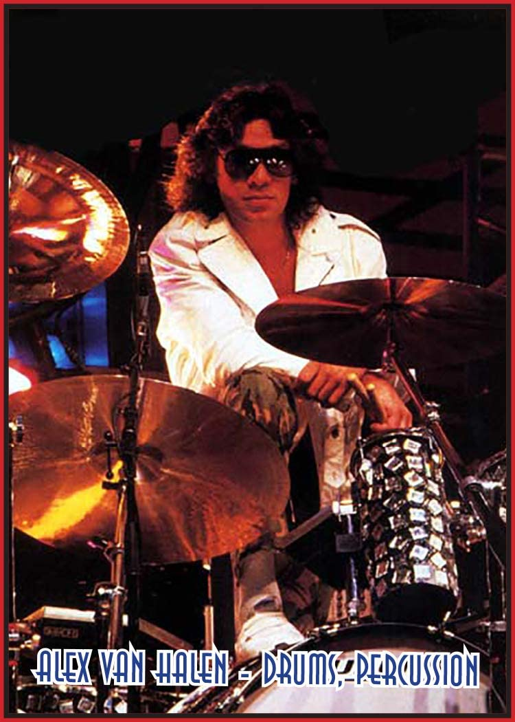 J2 Classic Rock Cards 248 Alex Van Halen At Amazon S Entertainment Collectibles Store