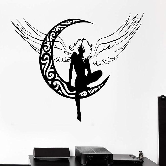 yaoxingfu Decoración de la Sala Tatuajes de Pared Hada Hermosos ...
