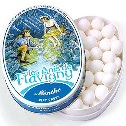 - Les Anis De Flavigny, Mint (French Mints), 1.75-Ounce Tins (Pack of 8)