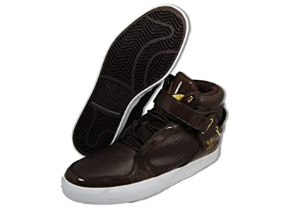 info for d83da 9b4ec adidas Originals Mens adiRise Mid Sneaker,EspressoEspressoMetallic  Gold,14 M