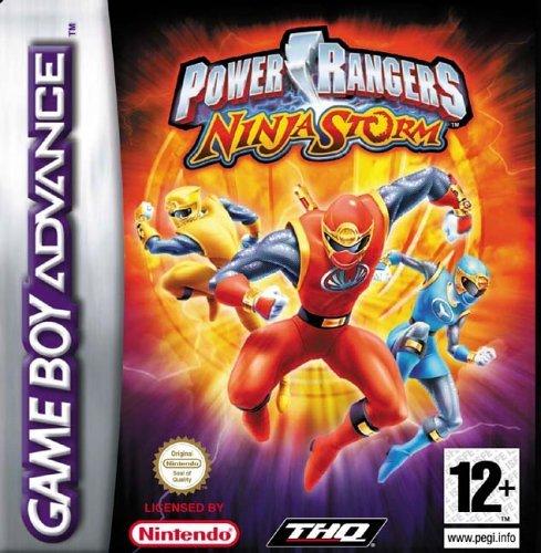 Amazon.com: Power Rangers : Ninja Storm (GBA): Video Games