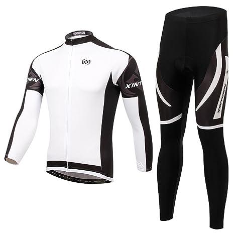 SXFZC Conjunto de Jersey de Ciclismo para Hombres ...