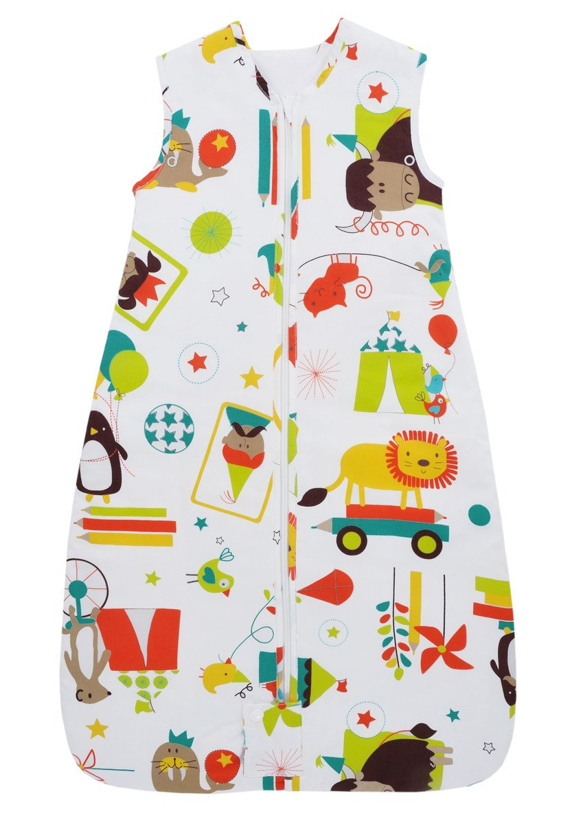 Gro Fiesta - Saco de dormir versión viaje, para 18-36 meses, 98 cm, multicolor: Amazon.es: Bebé