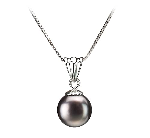 Nancy 9-10mm AA Quality Freshwater 925 Sterling Silver Cultured Pearl Pendant For Women